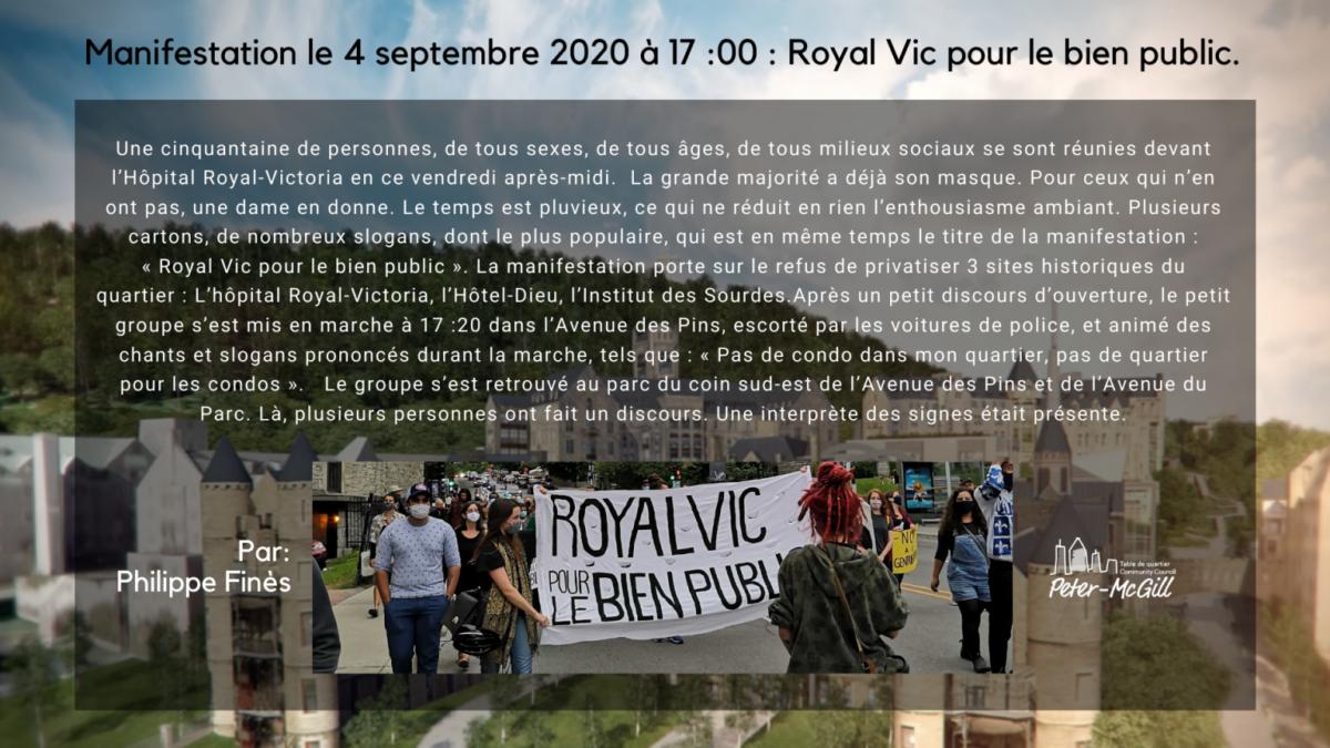 Manifestation / Protest 2020-09-04